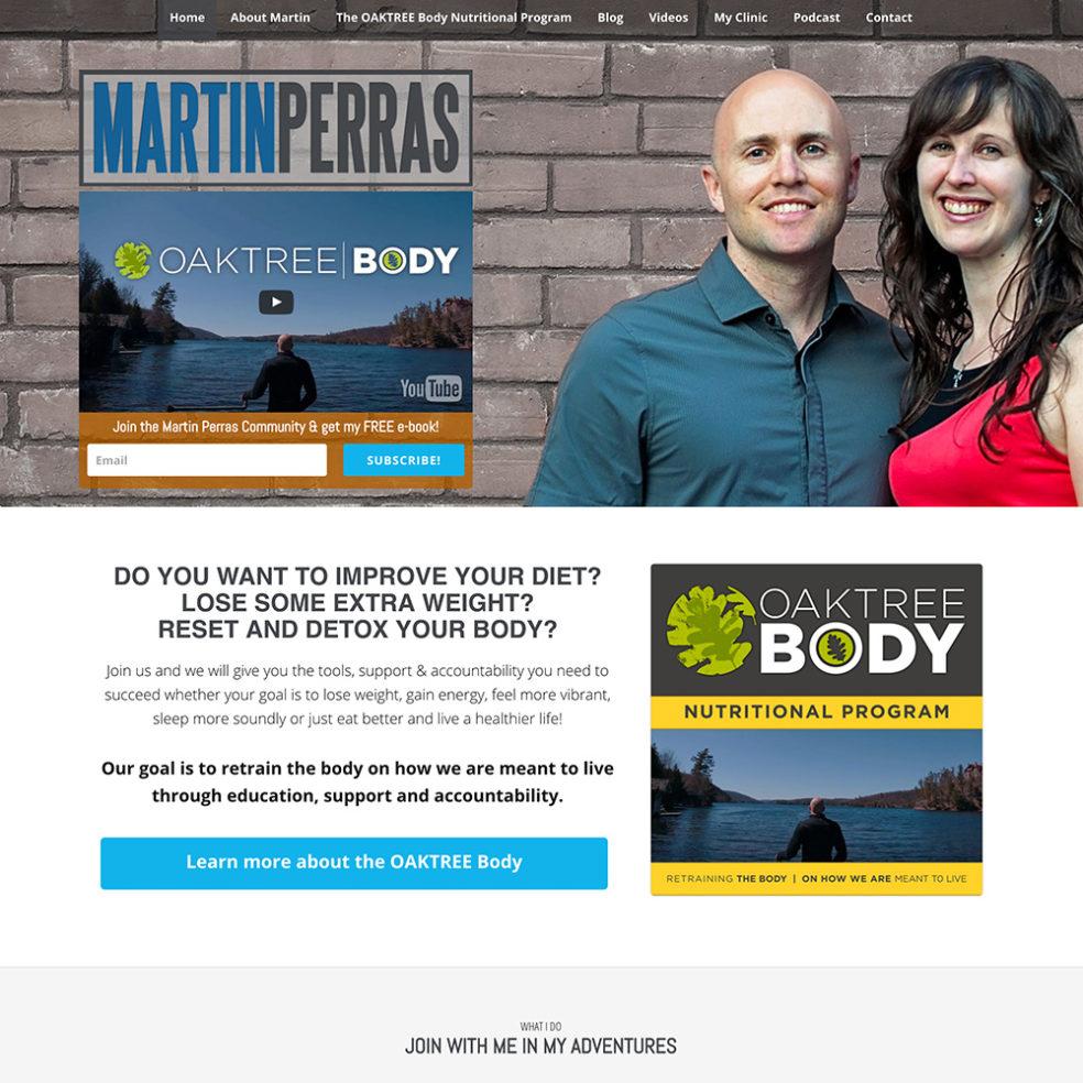 Martin Perras website
