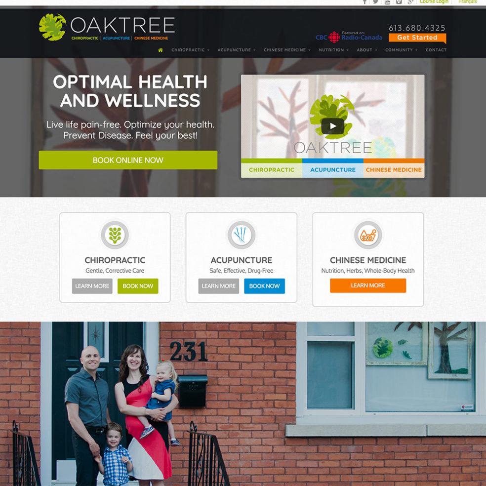 Oaktree Health website
